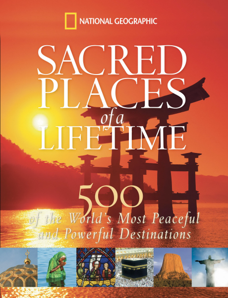 Printed National Geographic: Sacred Places of a Lifetime