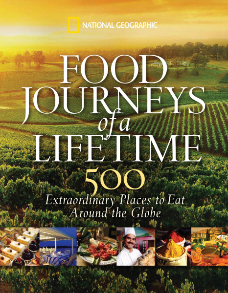 Imprinted National Geographic: Food Journeys of a Lifetime