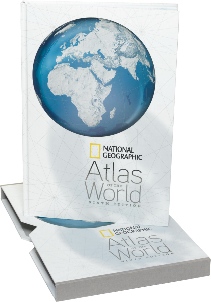Promotional National Geographic: Atlas of the World