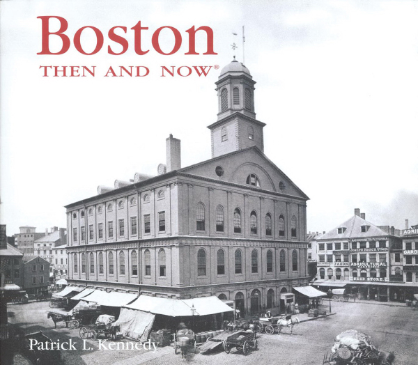 Personalized BOSTON THEN AND NOW 2ND ED