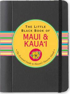 Promotional Little Black Book Travel Guide: Hawaii-Maui & Kau'i
