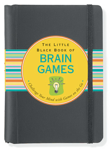 Printed Little Black Book of Brain Games