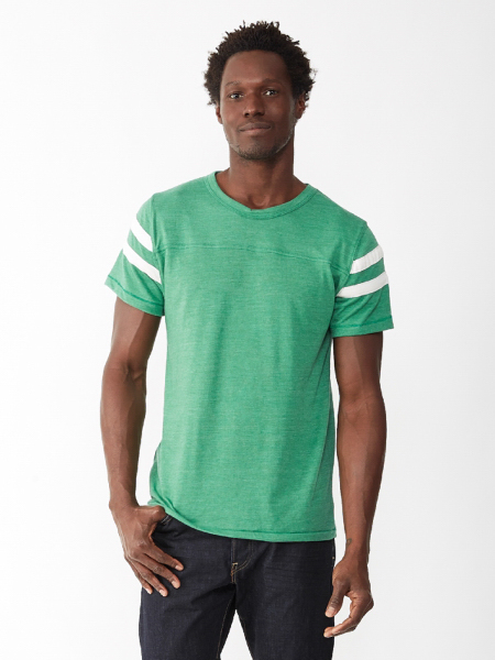 Printed Men's Eco Football Tee