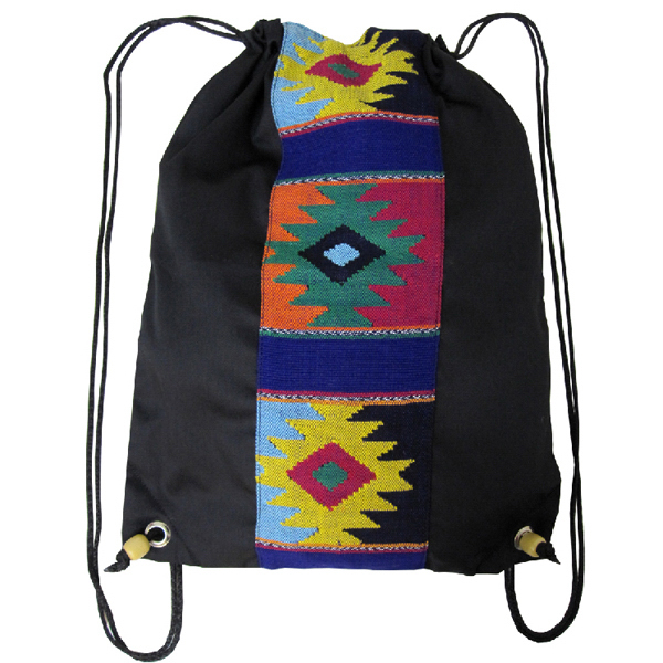 Personalized Rhombo Cinch Bag