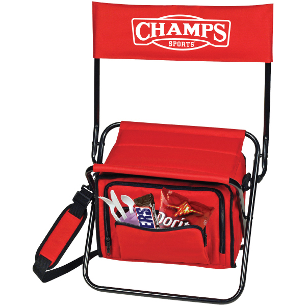 Imprinted Outdoor Cooler Chair
