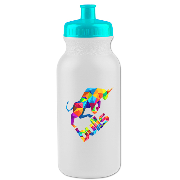 Customized 20 oz. Bike Bottle with Push-Pull Lid