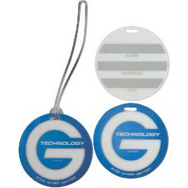 Promotional Round Luggage Tag