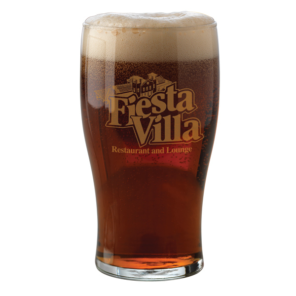 Personalized 20 oz Pub Glass