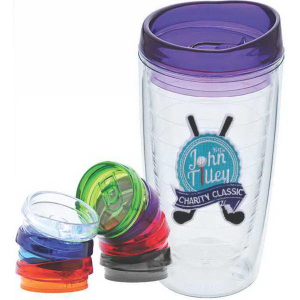 Printed Patcher 16 oz Tumbler with Patch