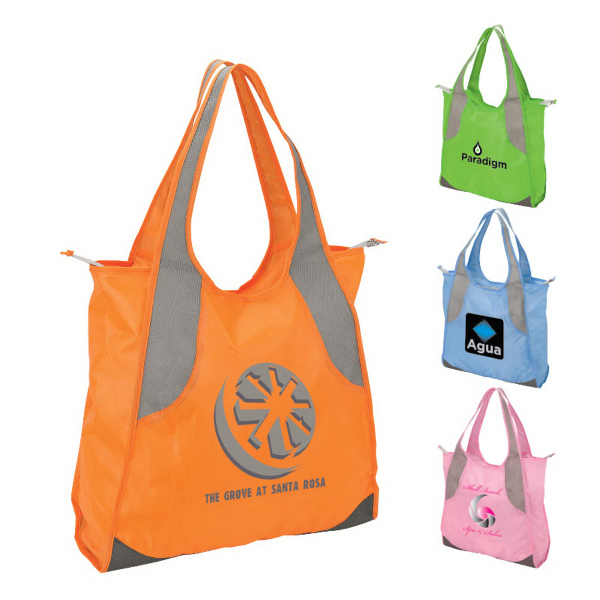 Personalized Land & Sand Tote Bag