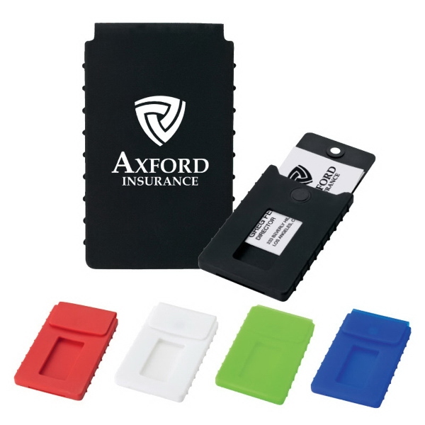 Imprinted Soft Touch Card Case