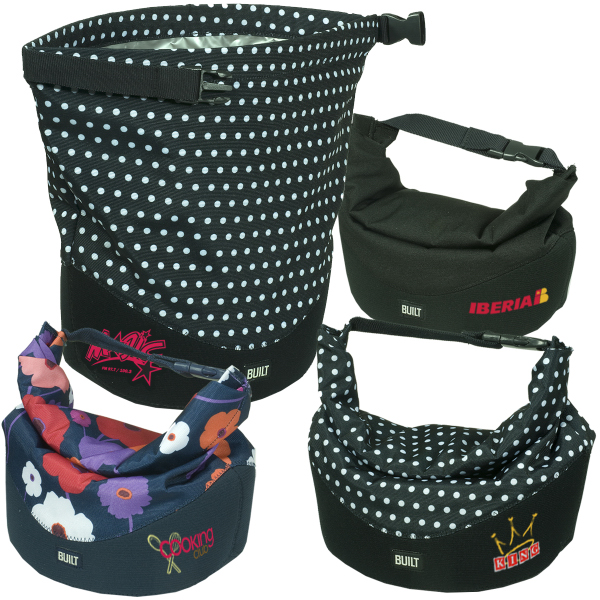 Printed BUILT (R) Rolltop Lunch Bag