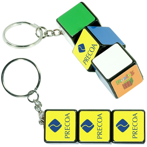 Customized Rubik's (R) Key Ring