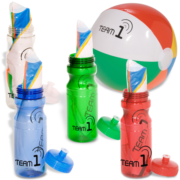 Personalized Ball-In-A-Bottle Combo