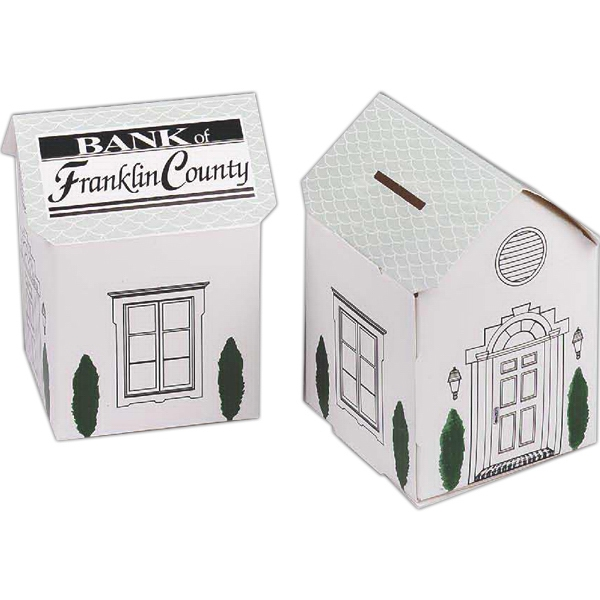 Personalized House Collection Bank