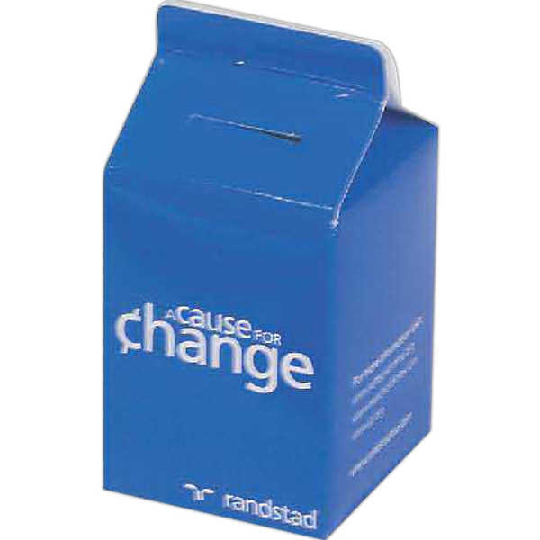 Promotional Milk Carton Bank