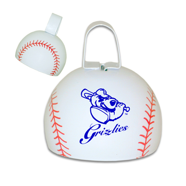 "Customized 4"" Baseball Cowbell"
