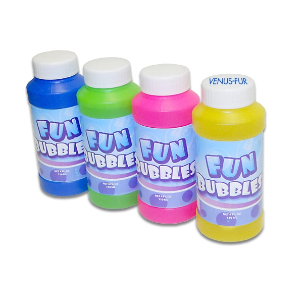 Promotional 4oz. Premium Bubble Bottles