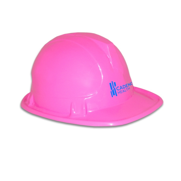 Personalized Pink Construction Hat