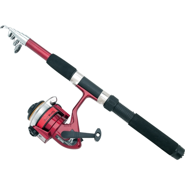 Personalized Telescoping Rod and Reel Set