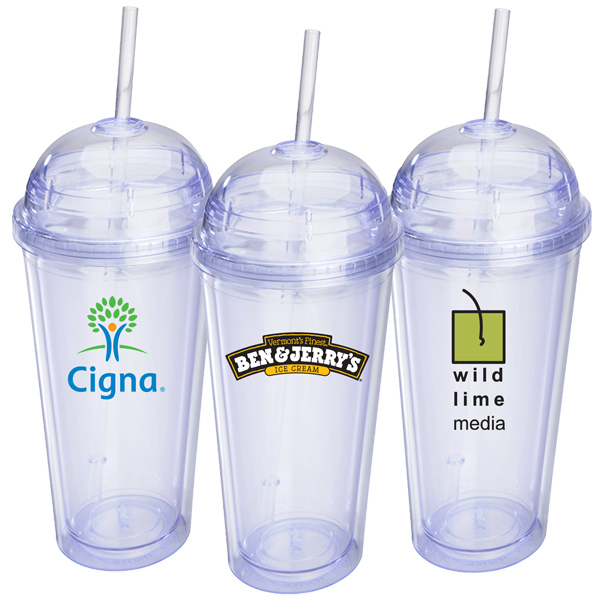 Promotional EZ16 16 oz Acrylic travel tumbler