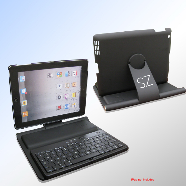 Printed 360 degree Bluetooth keyboard for iPad 2/3