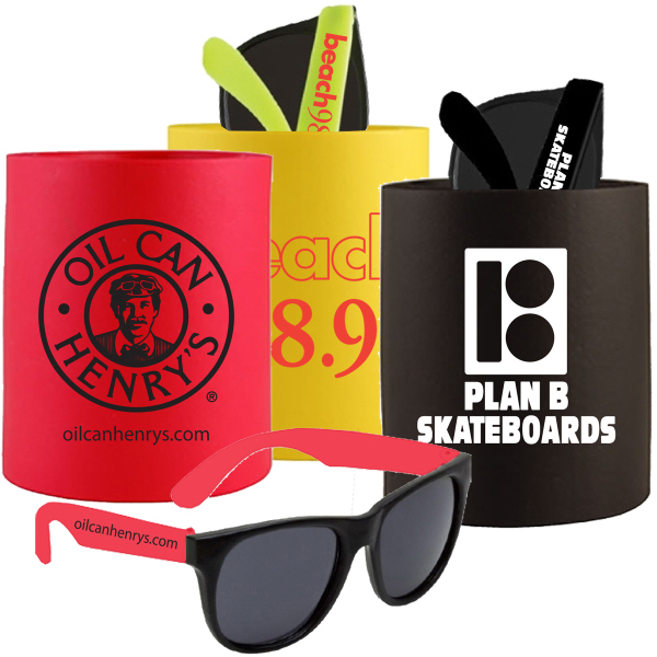 Printed CAN HOLDER SUNGLASSES KIT