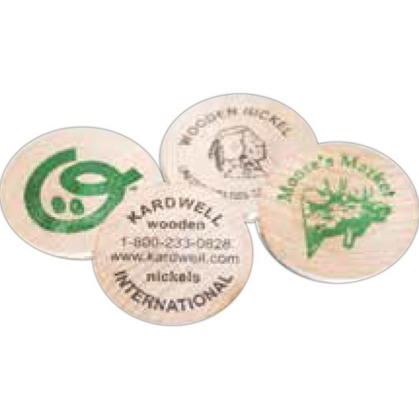 Promotional Wood Game Tokens
