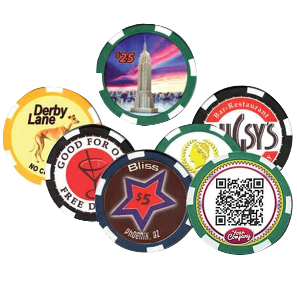 Customized 10 Gram Ceramic Poker/Casino Chips