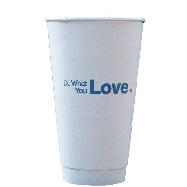 Personalized Insulated Paper Cup, 16 oz