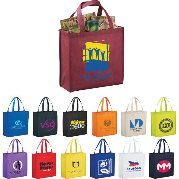 Customized The Main Street Shopper  Tote