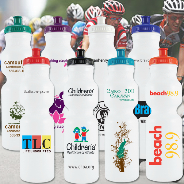 Promotional Bike Bottle 28oz.