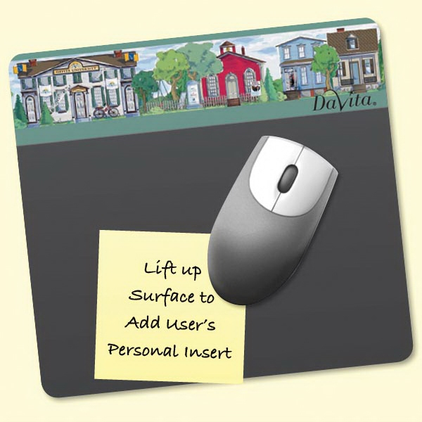 "Personalized Frame-It Lift® 7.5""x8""x1/16"" DuraTec®-Mouse Pad"