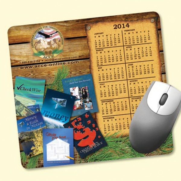 "Customized NEW! Vynex® DuraTec® 7.5""x8""x1/16"" Mouse Pad"