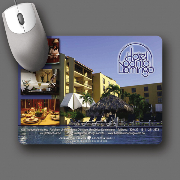 "Promotional NEW! Vynex® DuraTec® 6""x8""x1/8"" Mouse Pad"