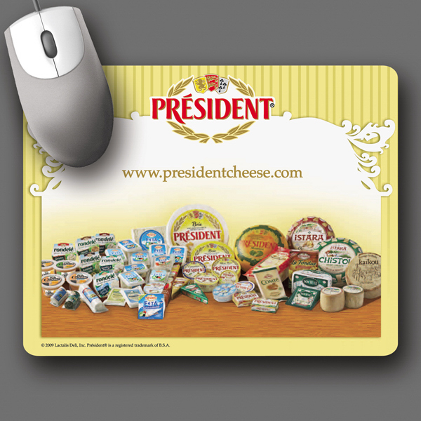 "Personalized NEW! Vynex® DuraTec® 7""x9""x1/8"" Mouse Pad"