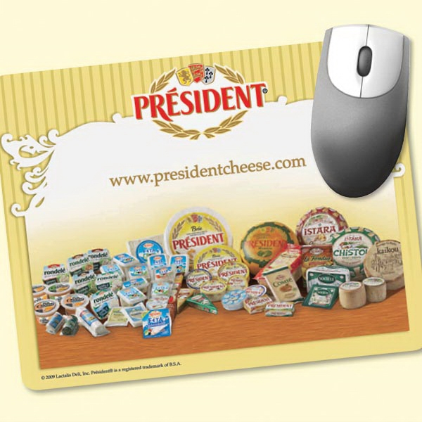 """Personalized NEW! Vynex® DuraTec® 7""""x9""""x1/8"""" Mouse Pad"""