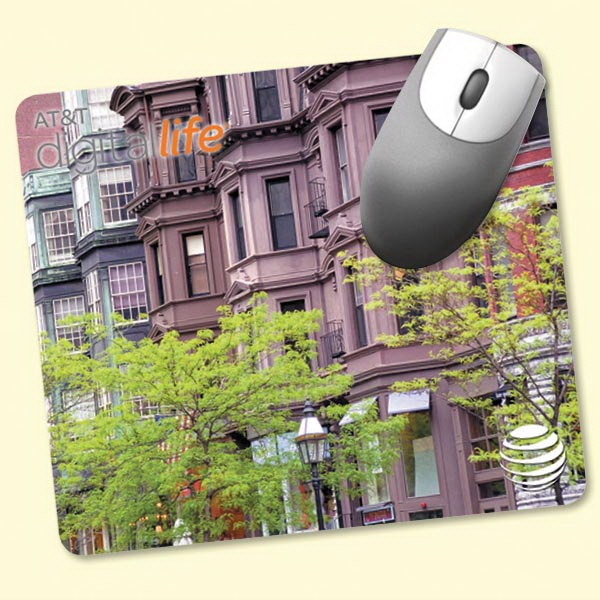 """Printed NEW! Vynex® DuraTec® 7""""x8""""x1/8"""" Mouse Pad"""