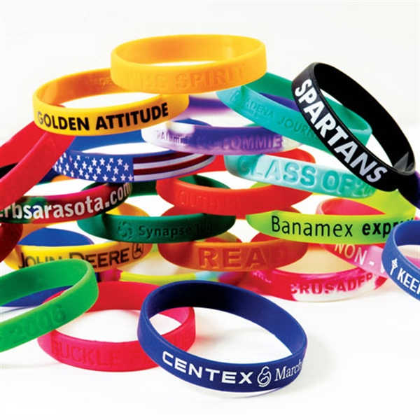 Promotional Awareness Bracelet - Screened