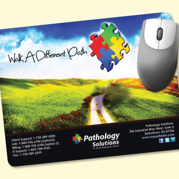 "Customized NEW! Vynex® DuraTec® 7""x9""x1/16"" Mouse Pad"
