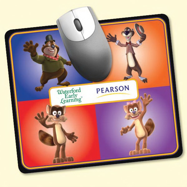 """Imprinted NEW! Vynex® DuraTec® 7""""x8""""x1/16"""" Mouse Pad"""