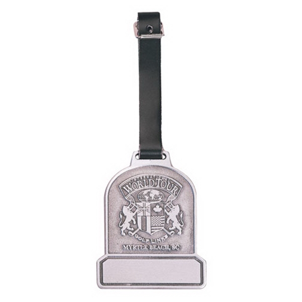 Printed Golf Metal Bag Tag