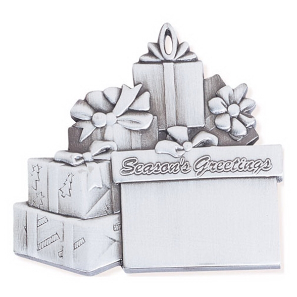 Custom Packages Ornament - Cast Relief