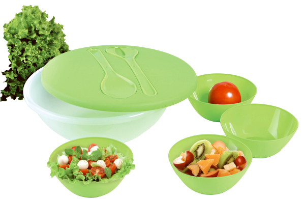 Customized 8 Piece Salad & Serving Set