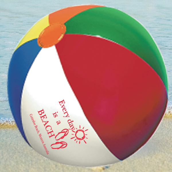 Personalized BEACH BALL 9""