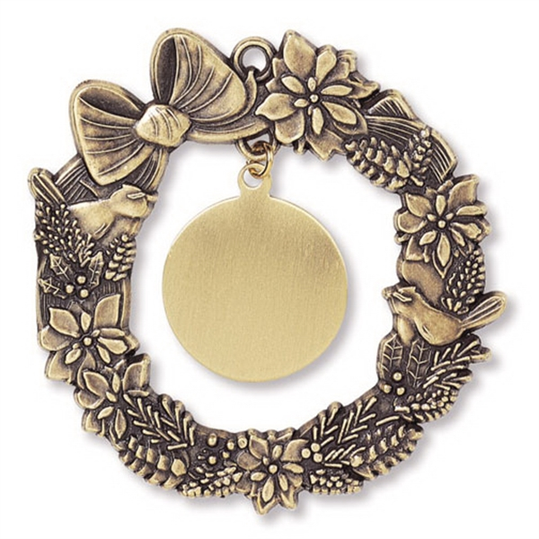 Promotional Charm Collection Ornament - Wreath