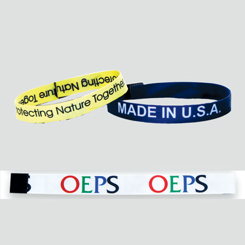 "Promotional Wrist Band - 1/2"" width"