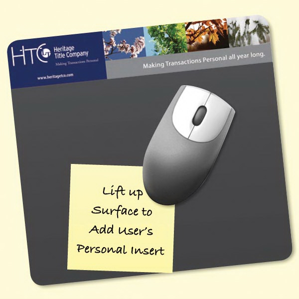 "Personalized Frame-It Lift® 7.5""x8""x1/8"" DuraTec®-Mouse Pad"