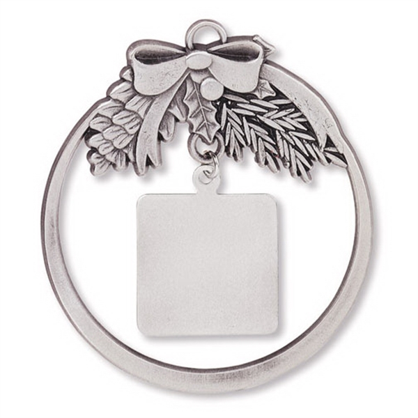 Customized Charm Collection Ornament - Round