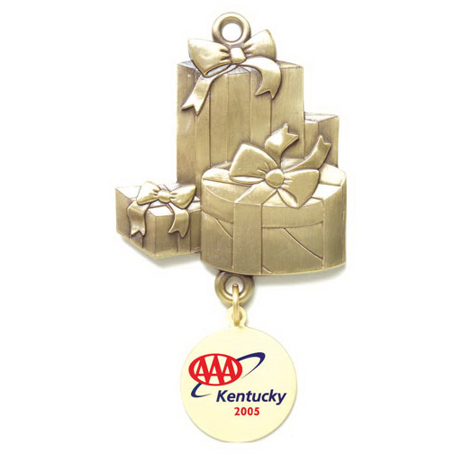 Custom Charm Collection Ornament - Gift Boxes